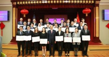 award ceremony for chinese students at consulate general in san francisco