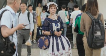 lady in a lolita dress