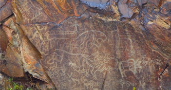 rock paintings discovered in heilongjiang