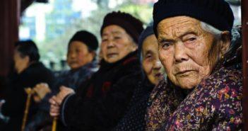 elderly women in china