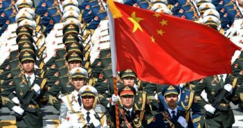 pla soldiers on parade