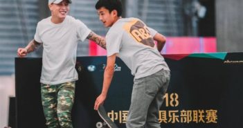 two skateboarders at china national team trials