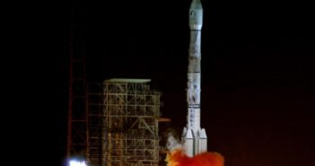 rocket launch from Xichang Satellite Launch Center