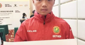 chinese boy who was a ball boy at the world cup