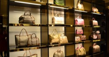 luxury bags at gucci store