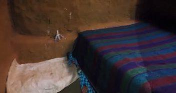room in underground hotel in malawi