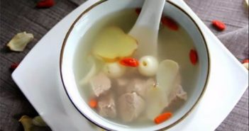 traditional soup for autumn in china