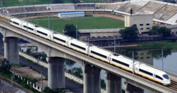 high speed rail en route in china