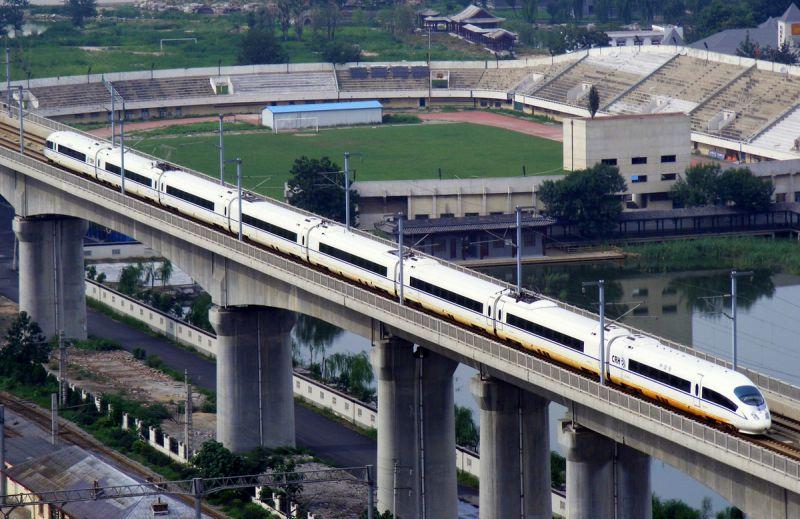 京津铁路时速达350km