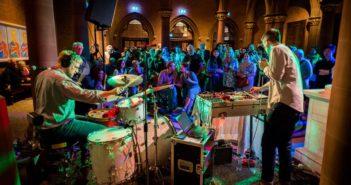 music performance at edinburgh art festival
