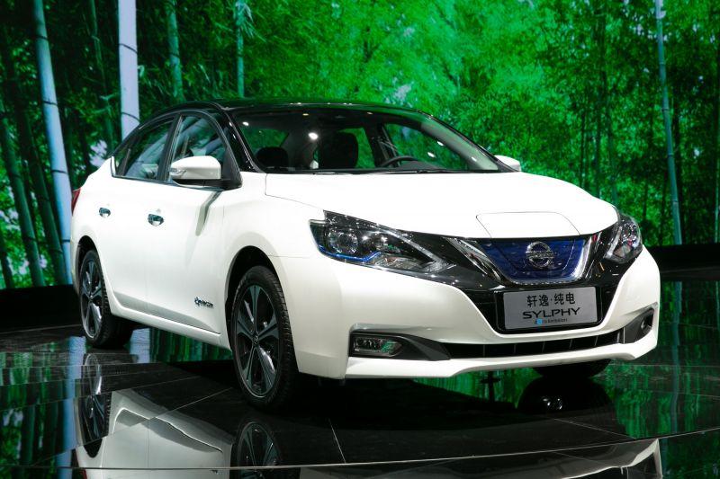日本日产电动汽车进军中国市场