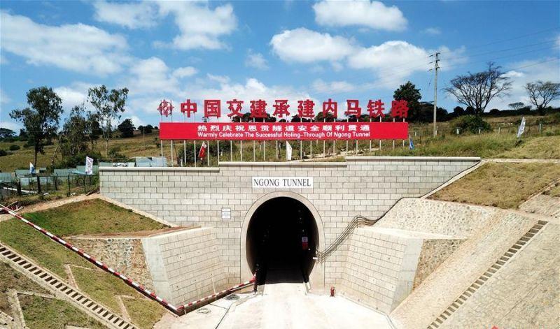 中国公司建成东非最长隧道