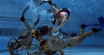 underwater hockey game in china