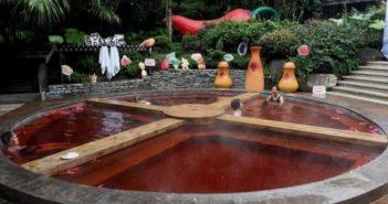 hotpot hotspring in chongqing