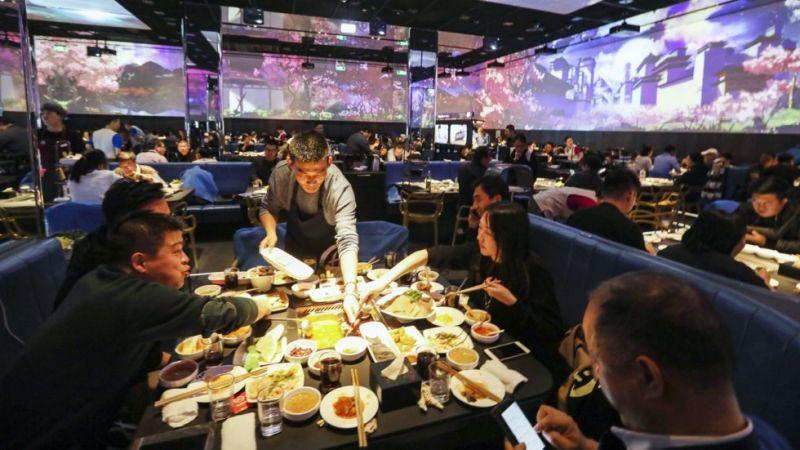 北京第一家智能火锅餐厅