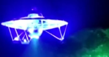 home-made ufo flying in the sky in wuhan
