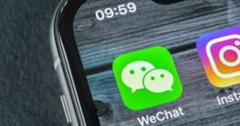 wechat app on phone