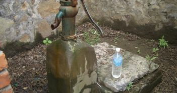 water pump in chinese village