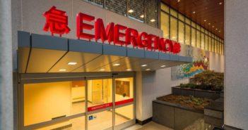 a&e hospital entrance in china
