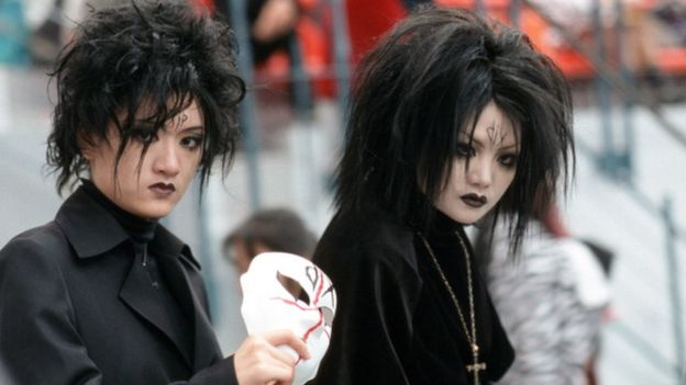 China's Goths Unite in Protest