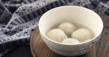 bowl of tang yuan