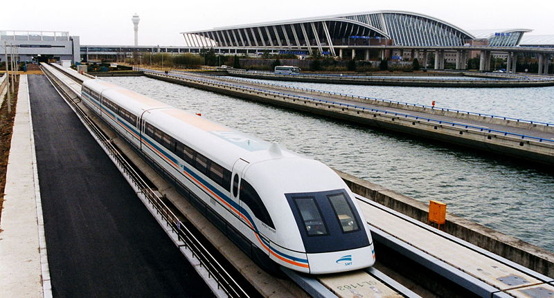 maglev train in shanghai