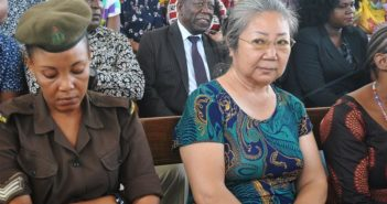 tanzania's ivory queen in court room