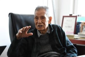 100-year-old chinese professor yang enze