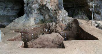 qingtang ruins digging site