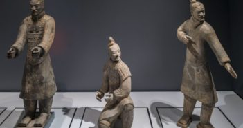 terracotta warriors on display at world museum in liverpool
