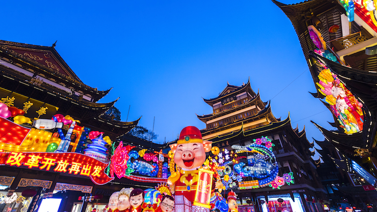 Chinese New Year Spending Slows