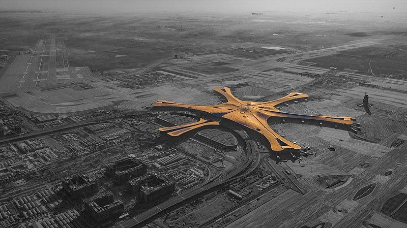北京新机场完成客机试飞