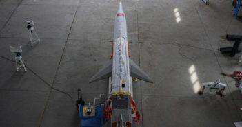 top view of jiageng-1 rocket