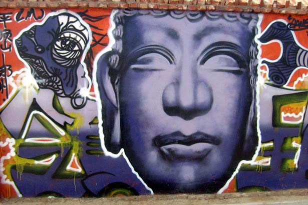 涂鸦艺术越来越被主流社会接受