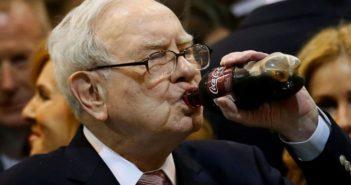 warren buffet drinking coke