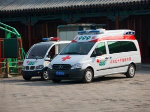 ambulance vehicles in beijing