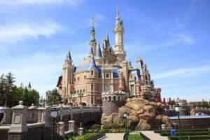 shanghai disney resort castle