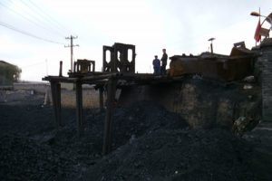 large coal deposit in china
