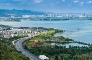 waterfront view of kunming