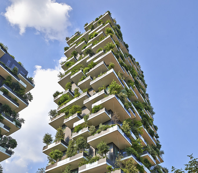 vertical forest building