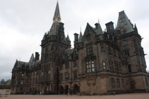 fettes college campus building