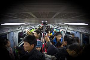 people inside a train carriage