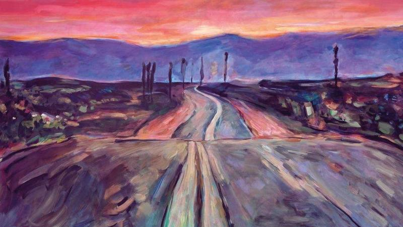 bob dylan's painting endless highway