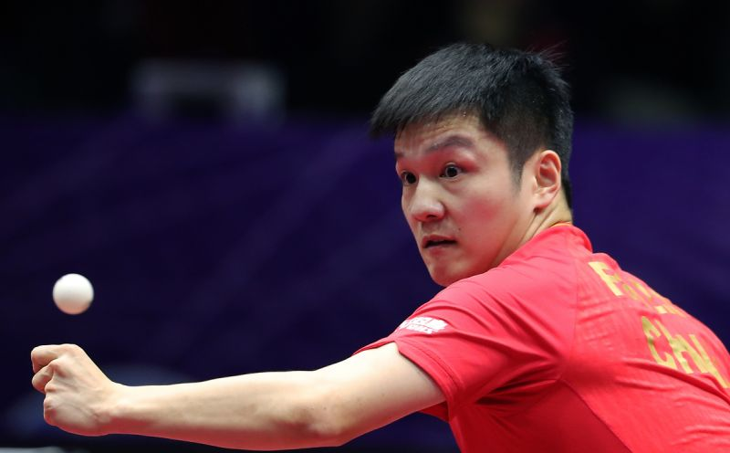 chinese table tennis player