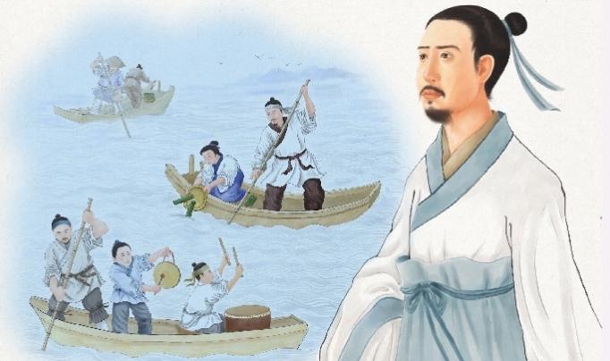 qu yuan and racing dragon boats