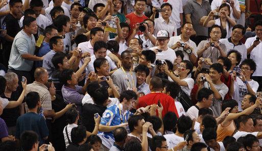 Kobe Bryant Influence in China