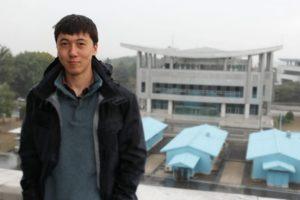 Chinese student Sean McDiarmid