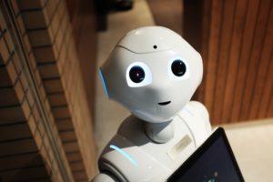 Covid-19: photo of robot