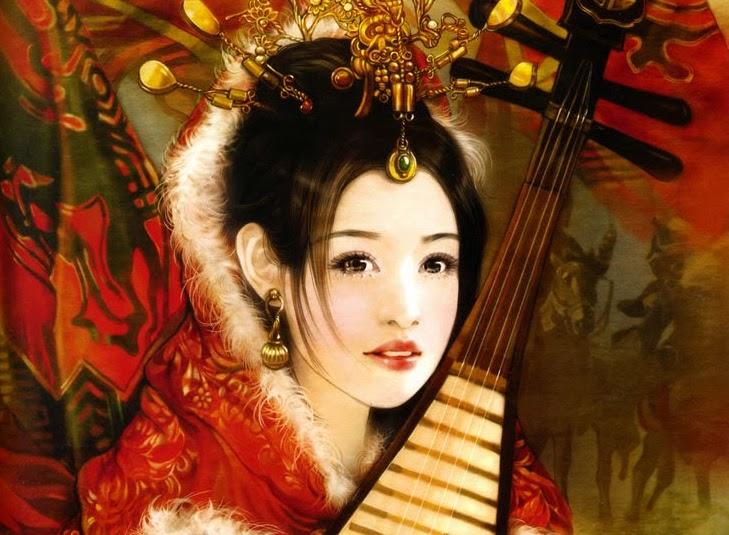 The Four Great Beauties of Ancient China - Wang Zhaojun
