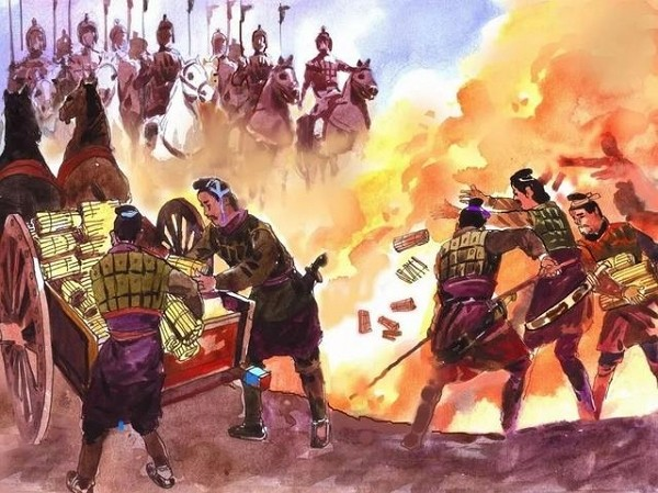 burning of the books during reign of qin shihuang